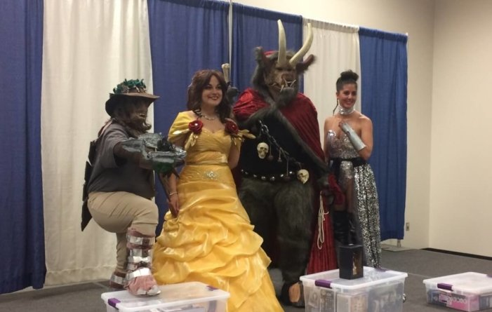 Nerding out at Ocean City Comic Con 2018