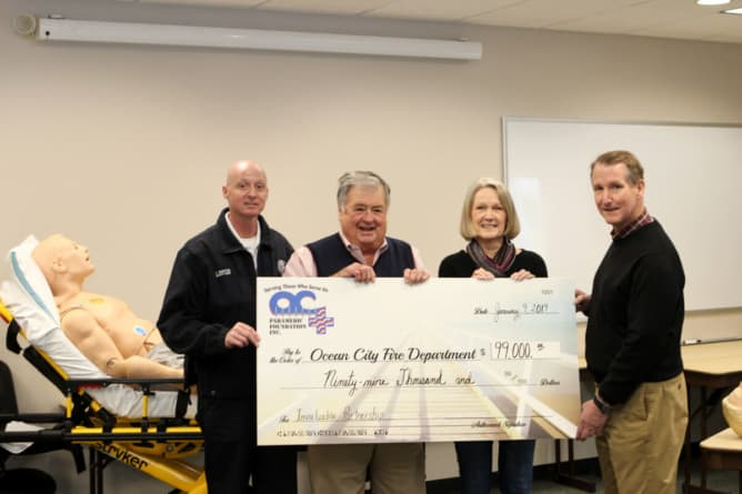Ocean City Fire Department receives grant from Paramedic Foundation
