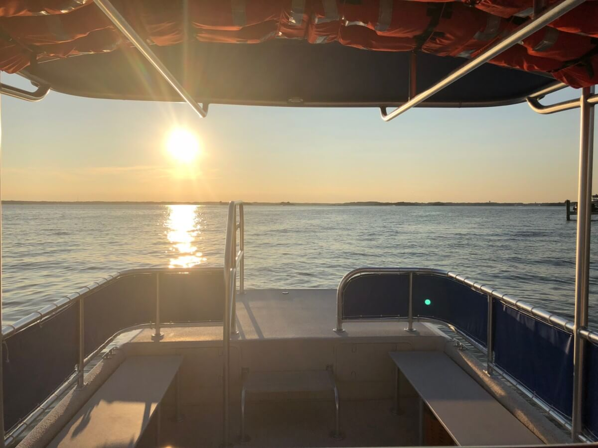 North Ocean City Water Taxi 'OC Bay Hopper' Hits the Water
