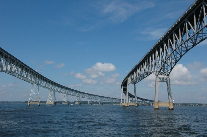 Governor Hogan Announces Bay Bridge Reopened AND Ahead of Schedule