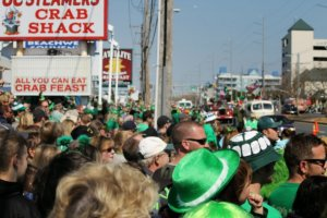 Ocean City St. Patrick's Day Parade Cancelled Coronavirus