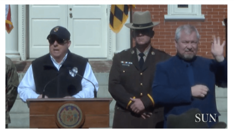 Hogan Orders Bars Restaurants and Gyms Closed