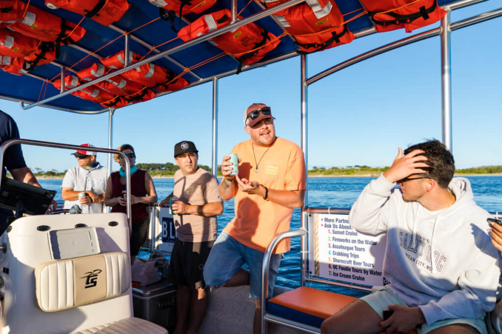 Crooked Hammock Takes Over Shore Craft Beer Cruise on OC Bay Hopper