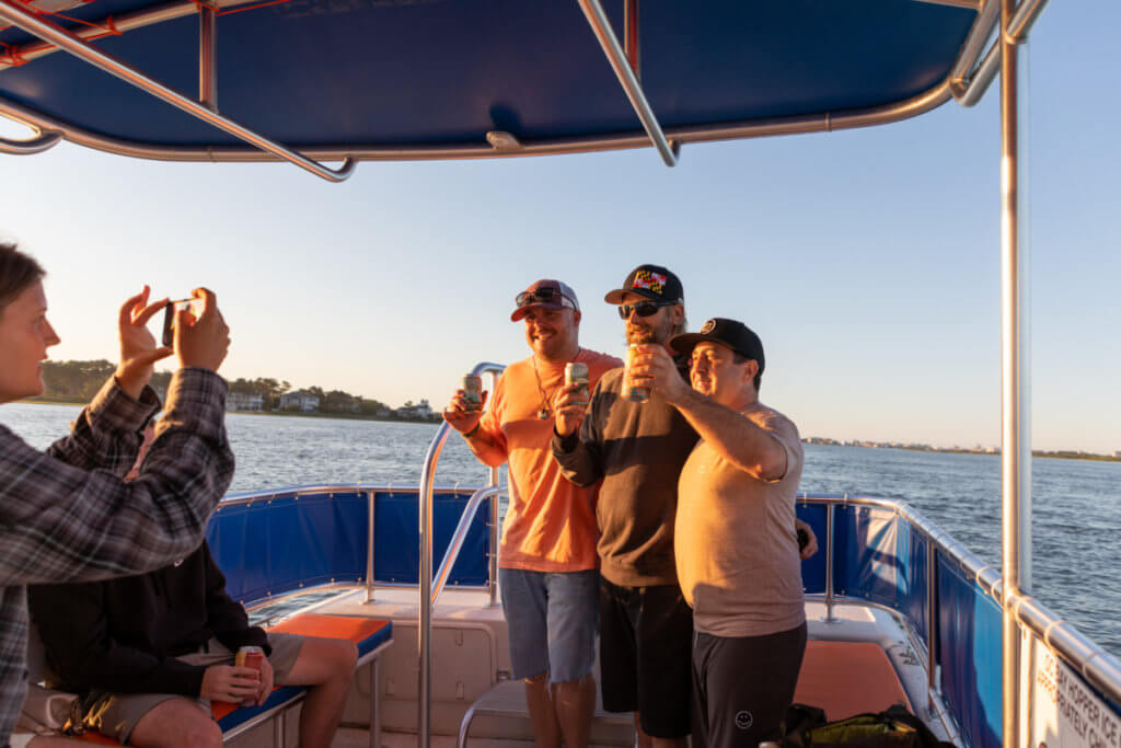 Make New Friends on the Shore Craft Beer Cruise