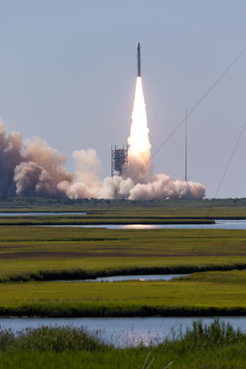 Minotaur IV launch from Wallops