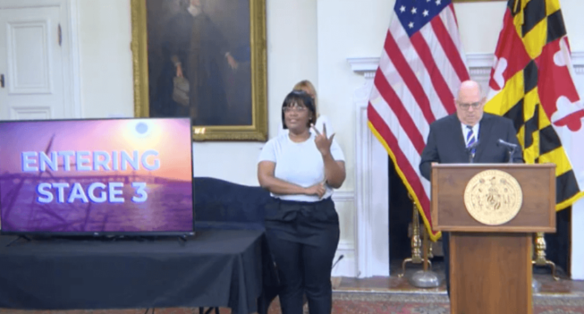 Governor Hogan Moves Maryland to Stage 3 of Covid-19 Roadmap to Recovery