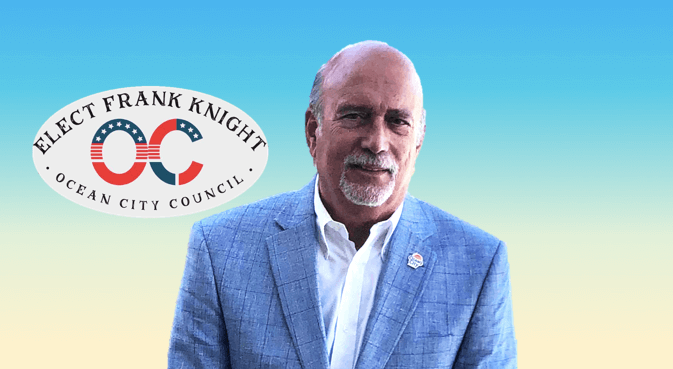 Council Candidate Frank Knight on Ocean City's Challenges and Future