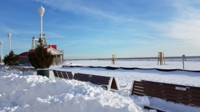 Did you ever see it snow in Ocean City?