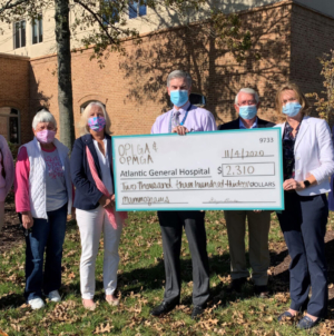 Pink Lady Golf Tournament Donates To Atlantic General Hospital's Eunice Q. Sorin Woman's Diagnostic Center